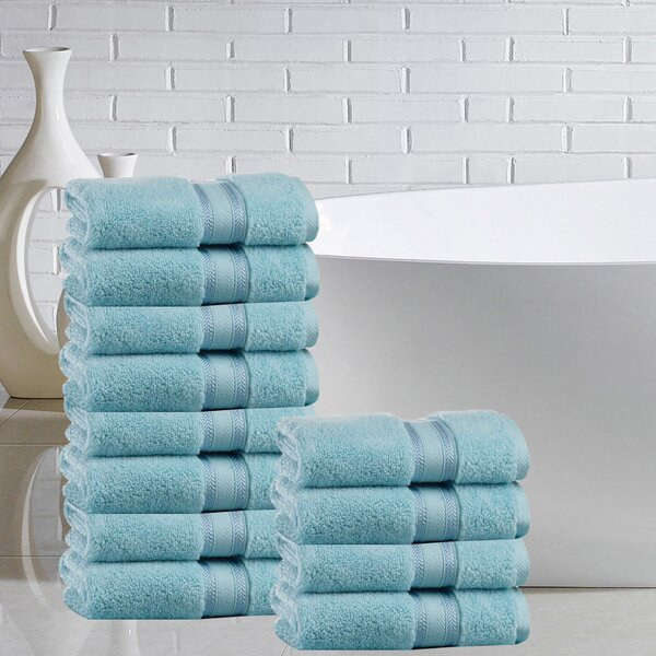 Briele 100% Cotton Washcloth (Set of 12) by The Twillery Co.